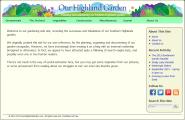 Our Highland Garden